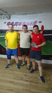 2-рая лига чемпион Садовый настольный теннис 20.04.2021